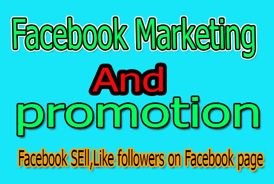 facebook marketing and promotion