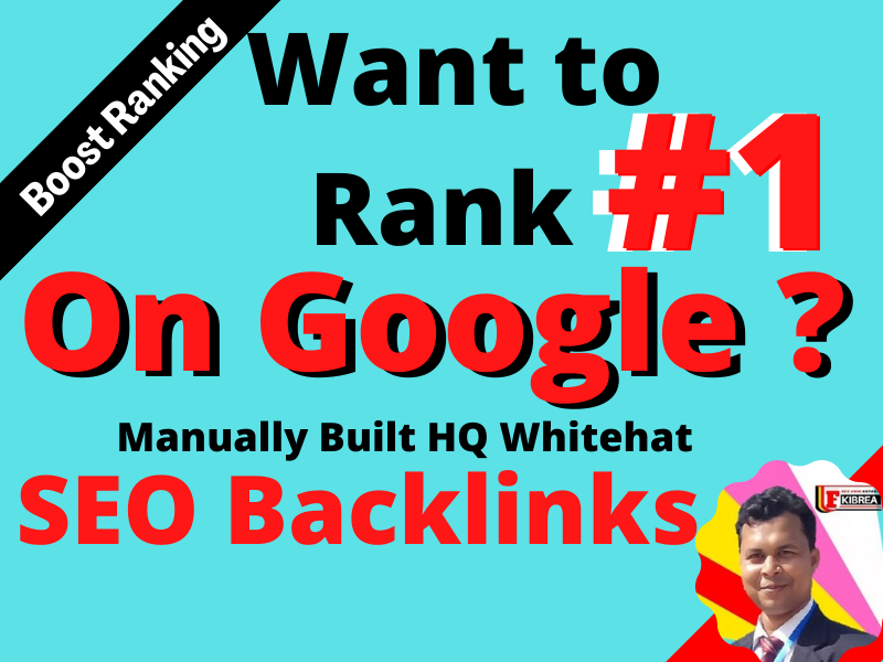 Boost your Google Ranking with HQ White hat 100 SEO backlinks