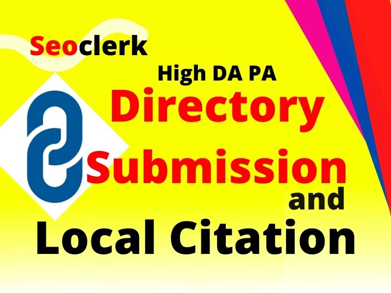 I will build directory submission and local citation manually