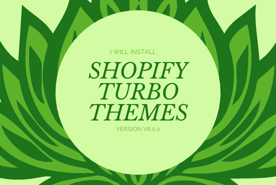 I will Install your favourite shopify turbo theme