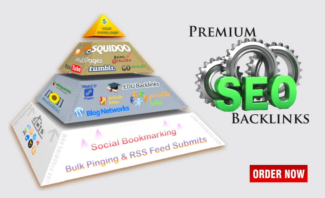 Rank Higher On Google With Powerful Link Pyramid SEO Campaign