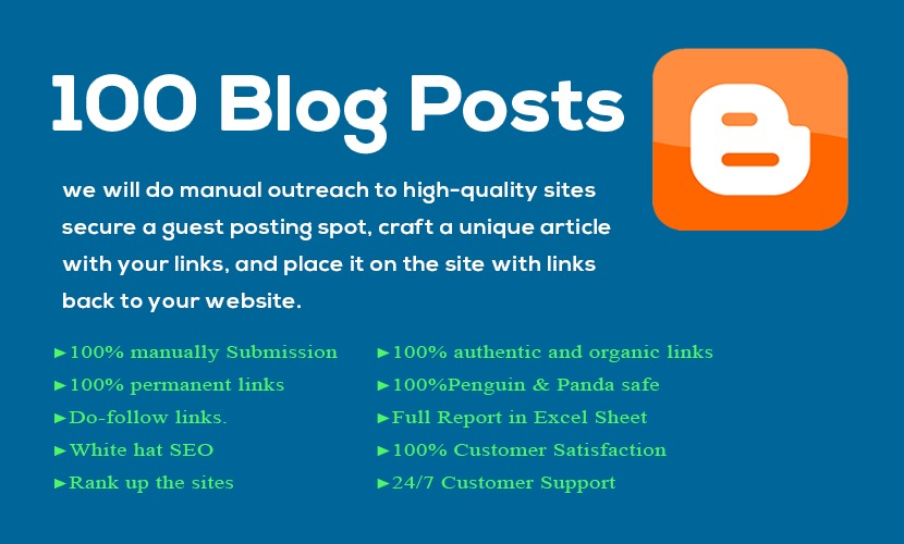 Blogger Backlink 2020 BEST BACKLINK SERVICE