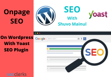 doing wordpress onpage seo (6 pages within 3 days)