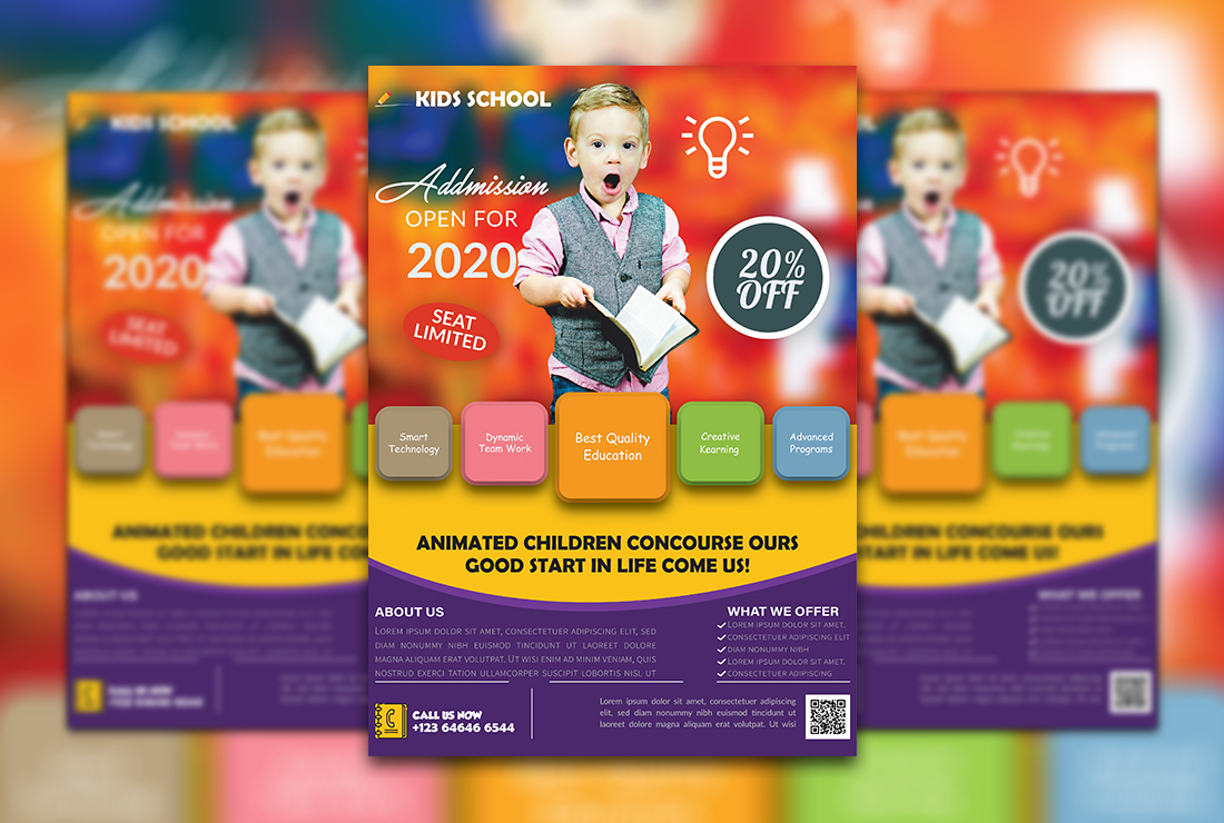 I will design any business flyer,  brochure,  poster or Leaflet