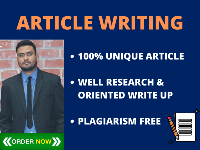 I Will Write 500 Words SEO optimize Unique Article