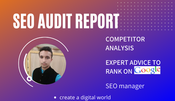 Provide you expert website audit, and competitor analysis