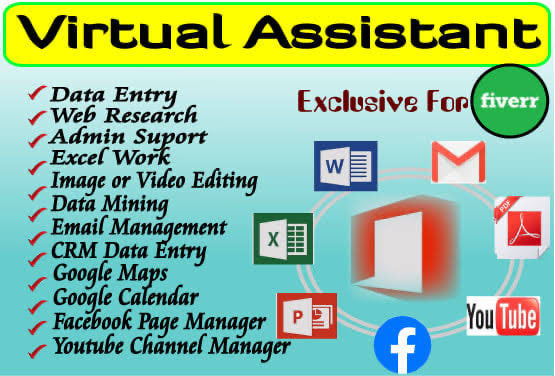 I will be your Trusted Virtual Assistant for any Type of Task