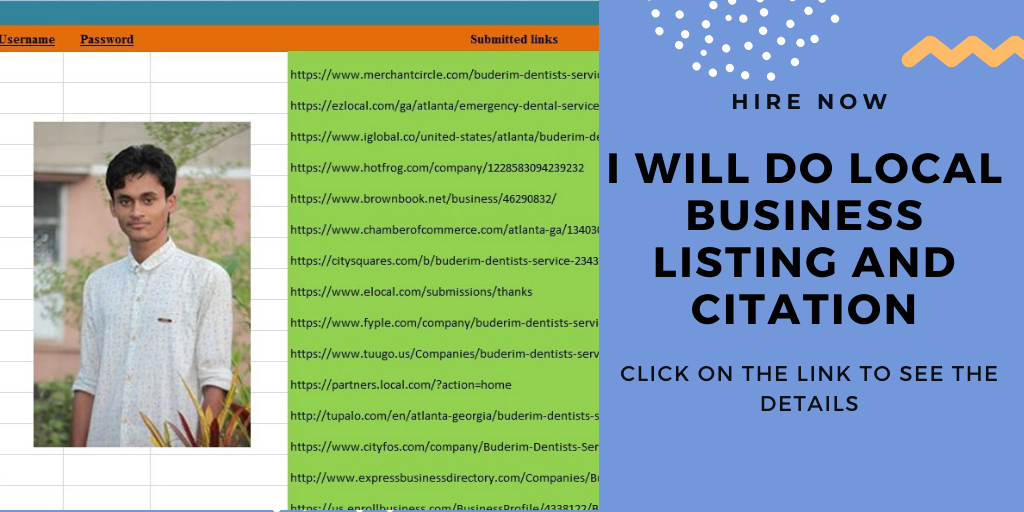 I will build top 50 live local citations manually in 24 hour