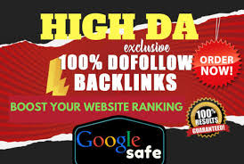 I will do 50 Backlink Do follow high DA backlink Boost your website rankking