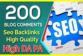 i will do 200 link High Da PA low OBL blogcomment Backlink 100 percent manual work