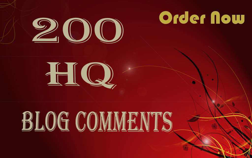 I will do 200 manually blog comments backlinks high quality da pa