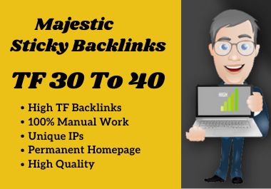 Make 10 High Quality TF CF 30 To 40 Manual SEO Dofollow PBN Backlinks