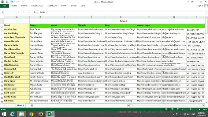 I will do data entry for excel, word database