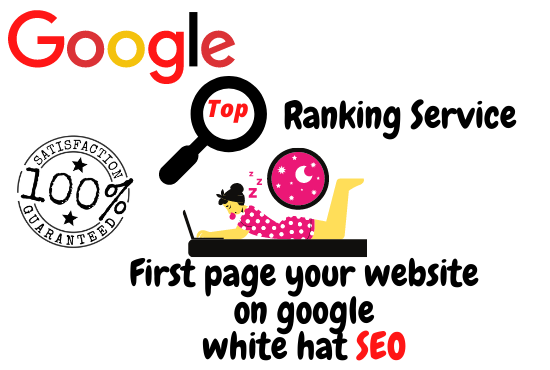 I will provide best google top ranking service with white hat SEO