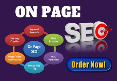 I will do complete on page SEO optimization for wordpress website