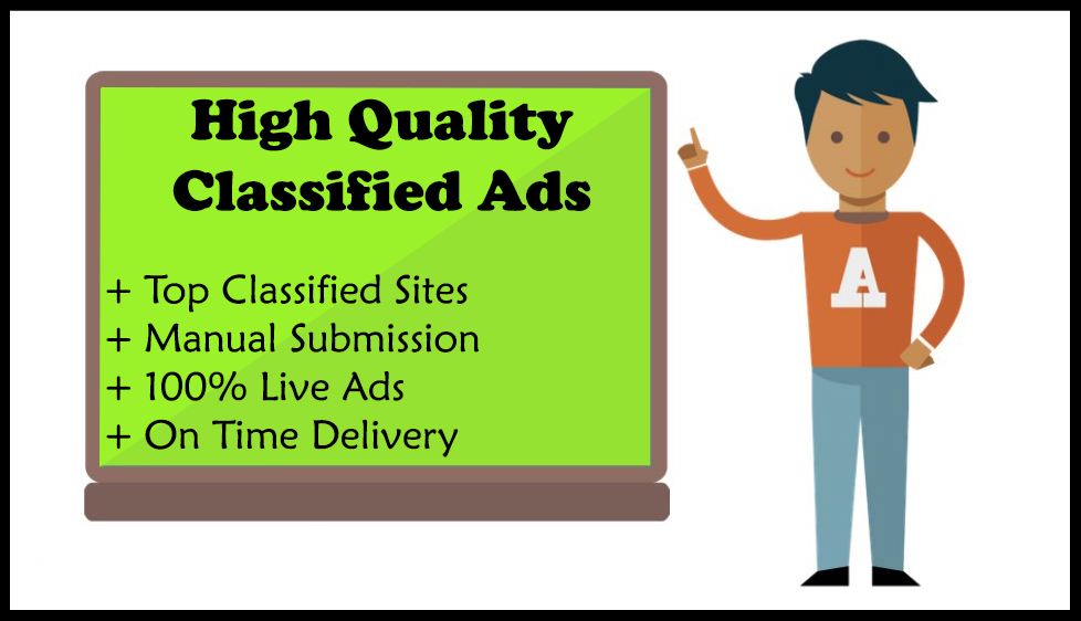 I Will Advertise Your Business Or Product On 100 High Authority Classified Websites