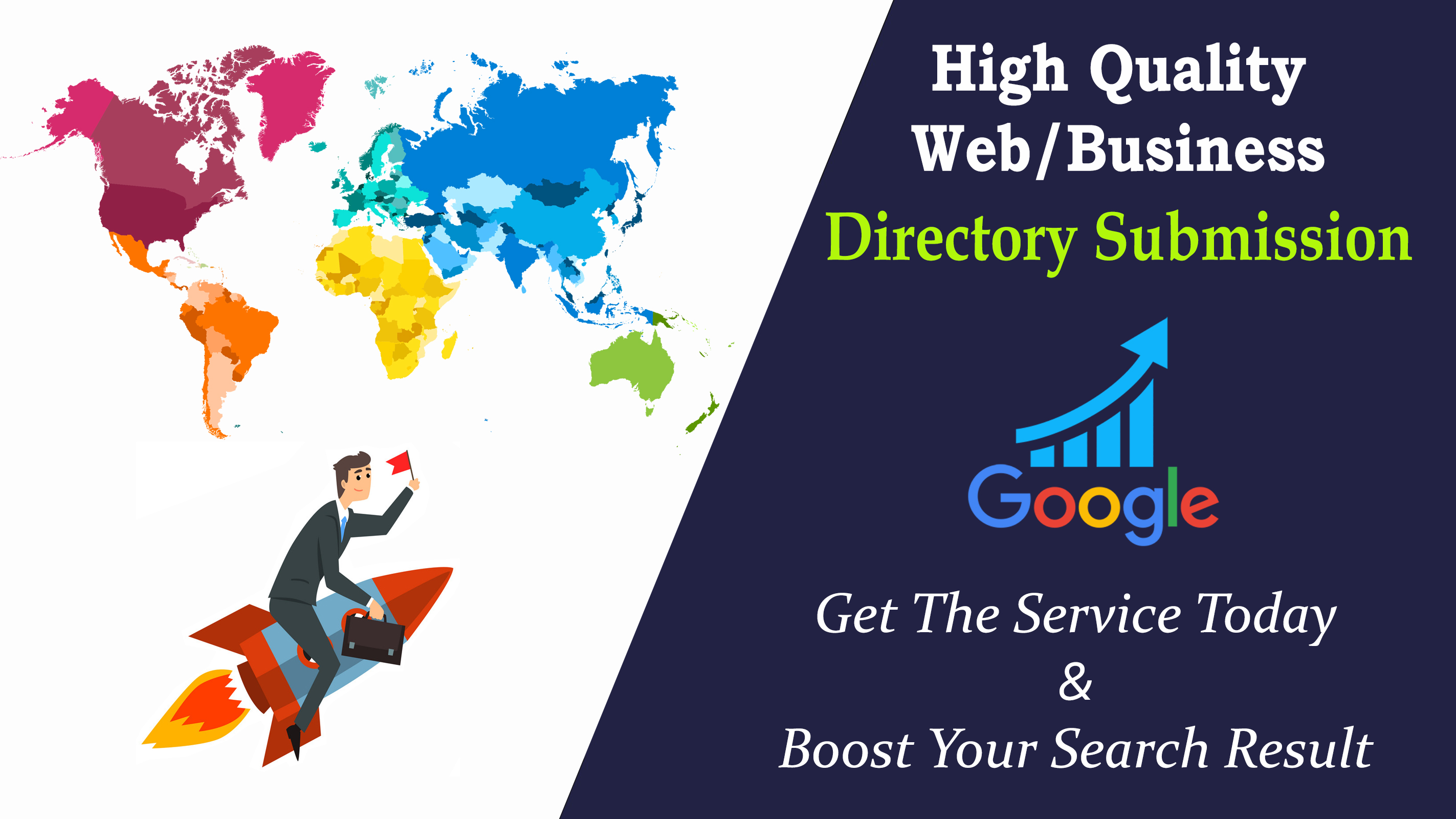 I Will Provide 100 SEO-Friendly Directory Submission Service