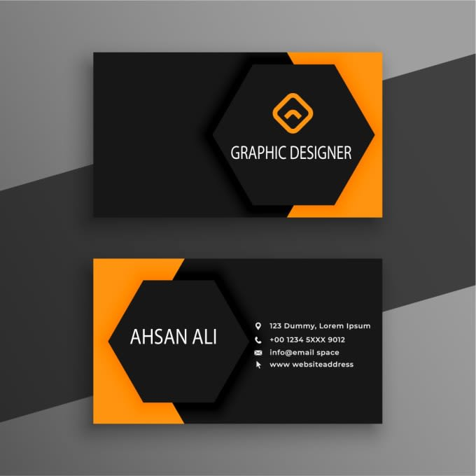 I will design stunning and fabulous business card within 24 hours