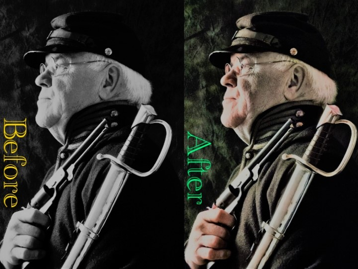 I will colorize your Black & White photo's and give them a new modern look.