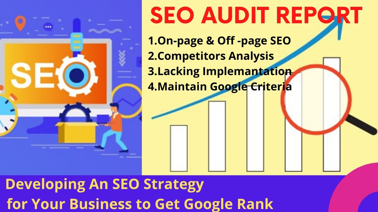 I will provide best SEO audit report for your website