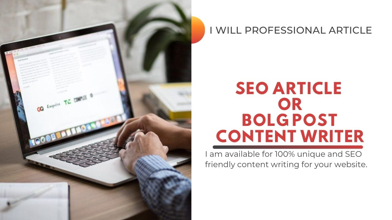 I will write SEO blog articles to grow your business