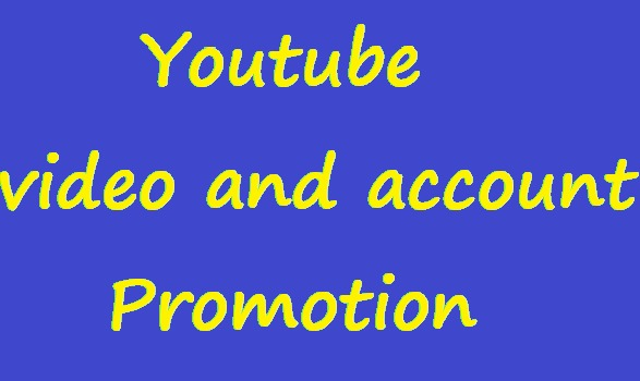 YouTube video promotion to grouth