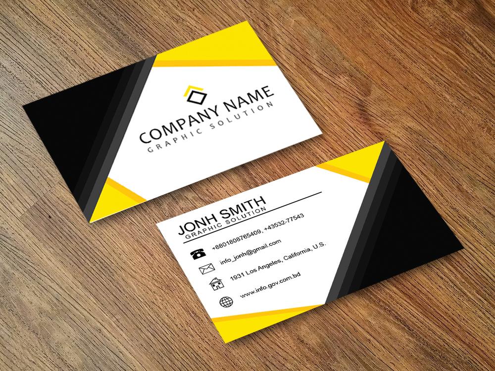 I will do creative business card design.