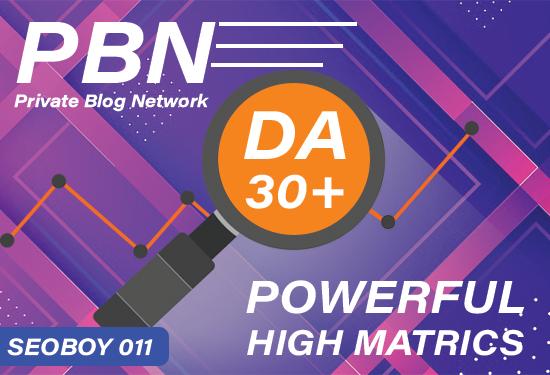 25 Homepage PBN Backlinks POWERFUL HIGH MATRICS And Low Spam