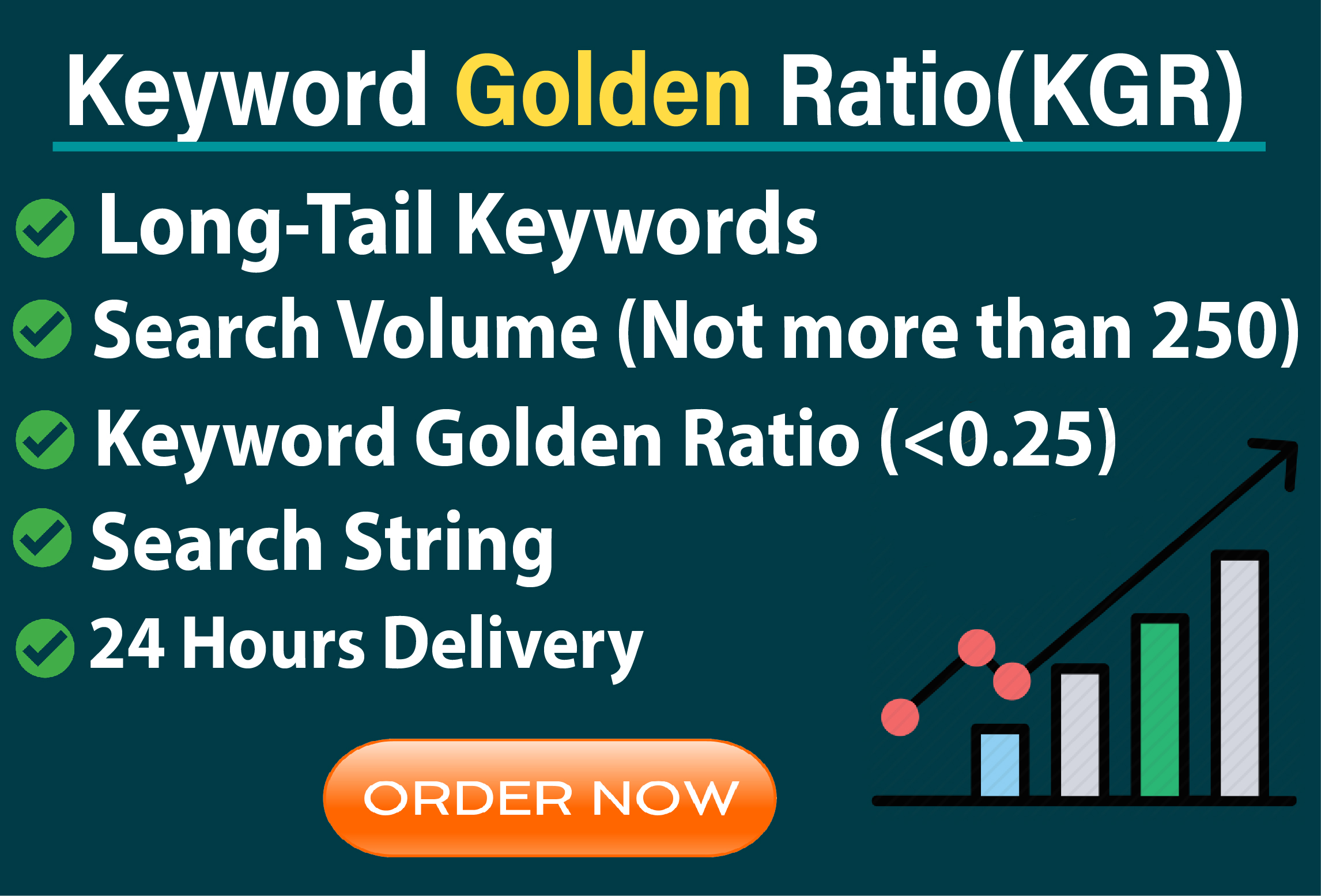 I will do best kgr keyword research that will rank fast