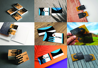 I will make you decent and attractive business cards