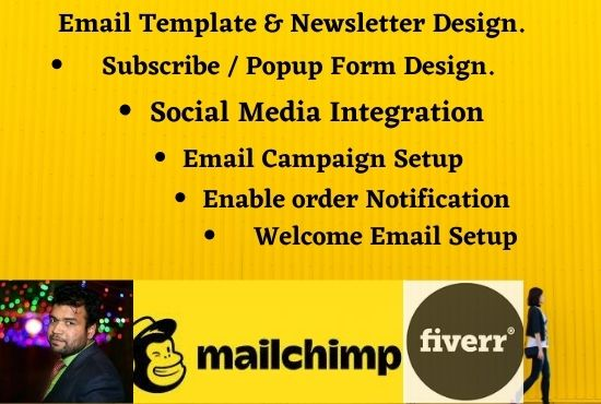 I will do create professional email template