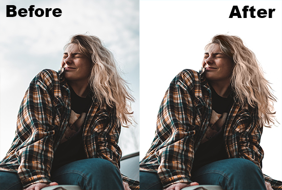 I will hair masking professionally with background remove