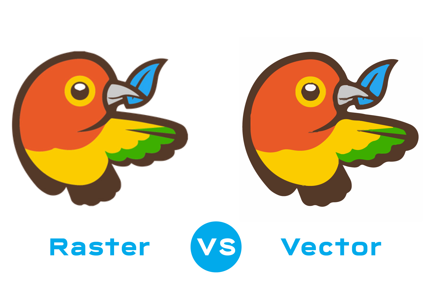 I will convert raster to vector, vector tracing