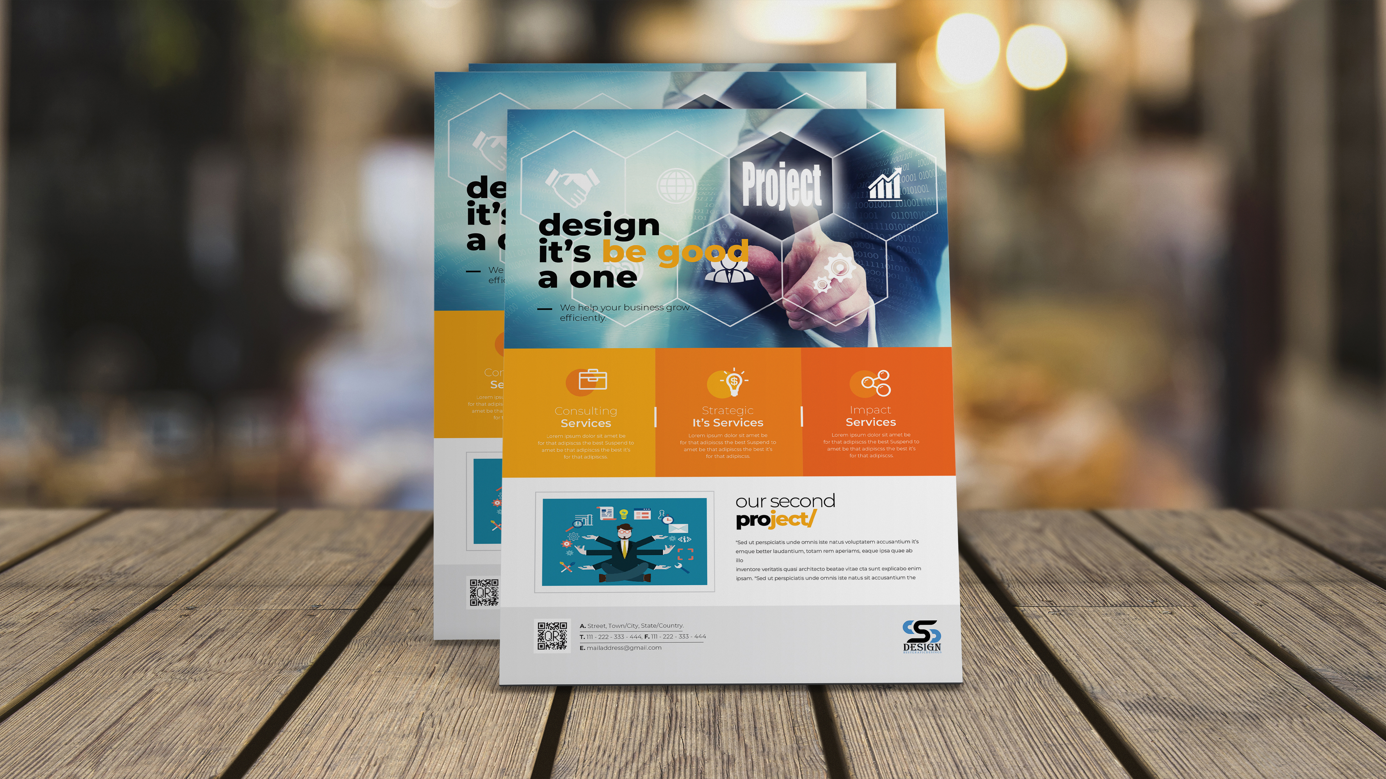 flyer or leaflet design service