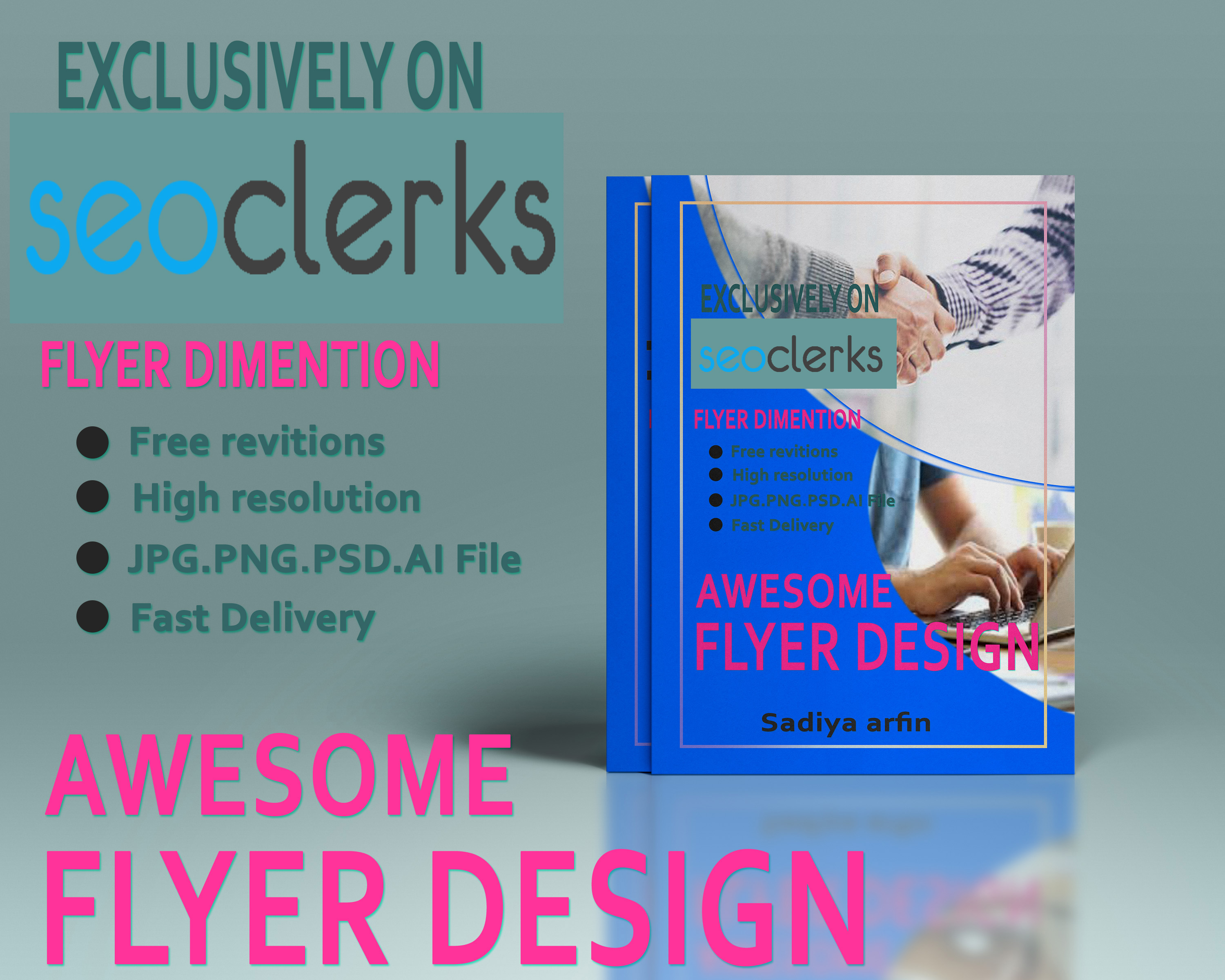 flyer and poster design graphic design