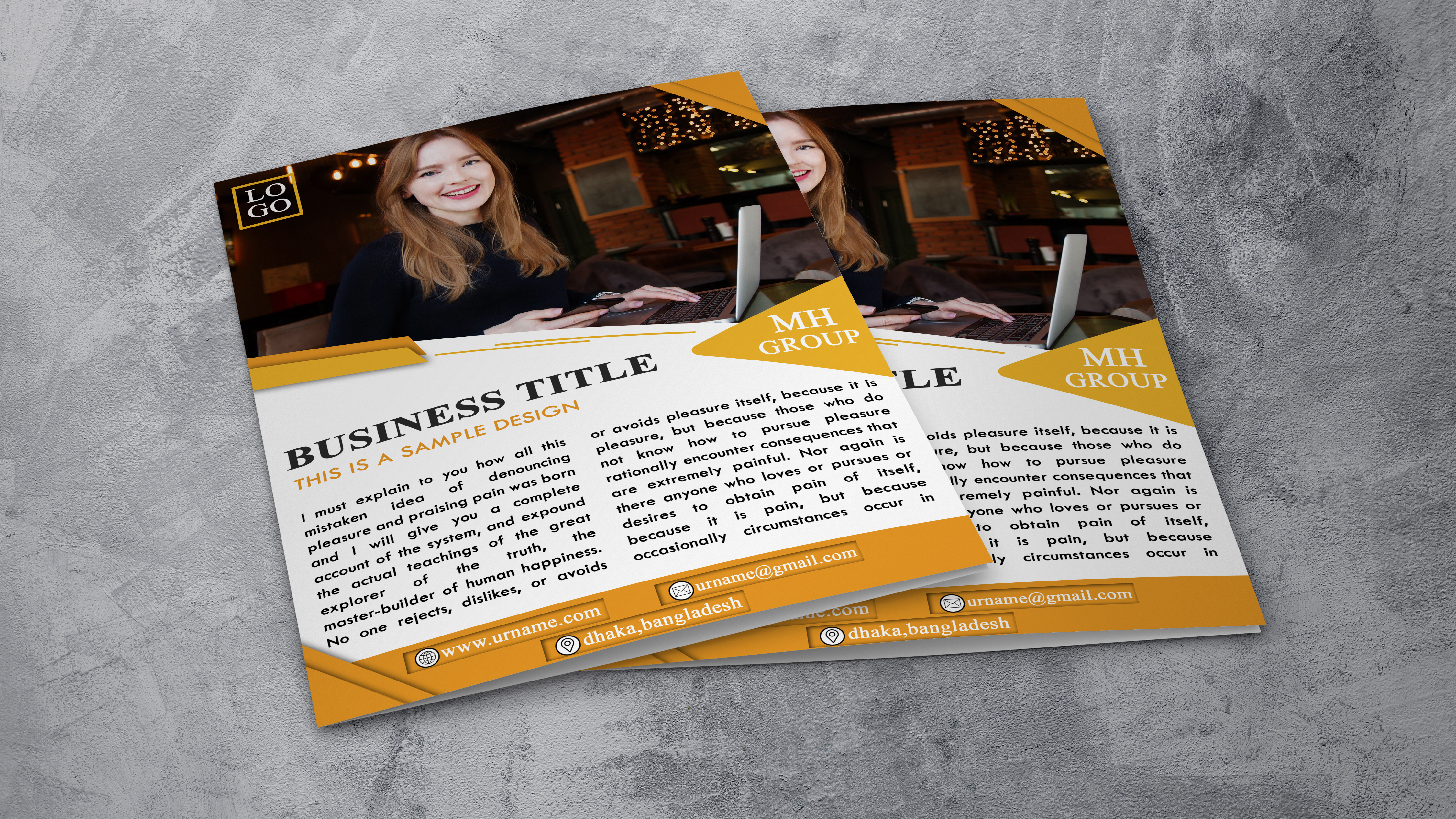 I will design creative and amazing flyer for you