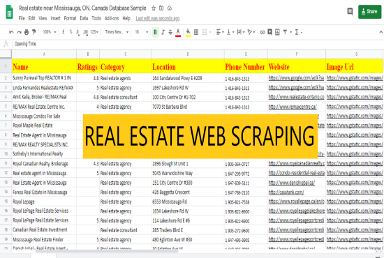 complete data entry web scraping in next 4 hours