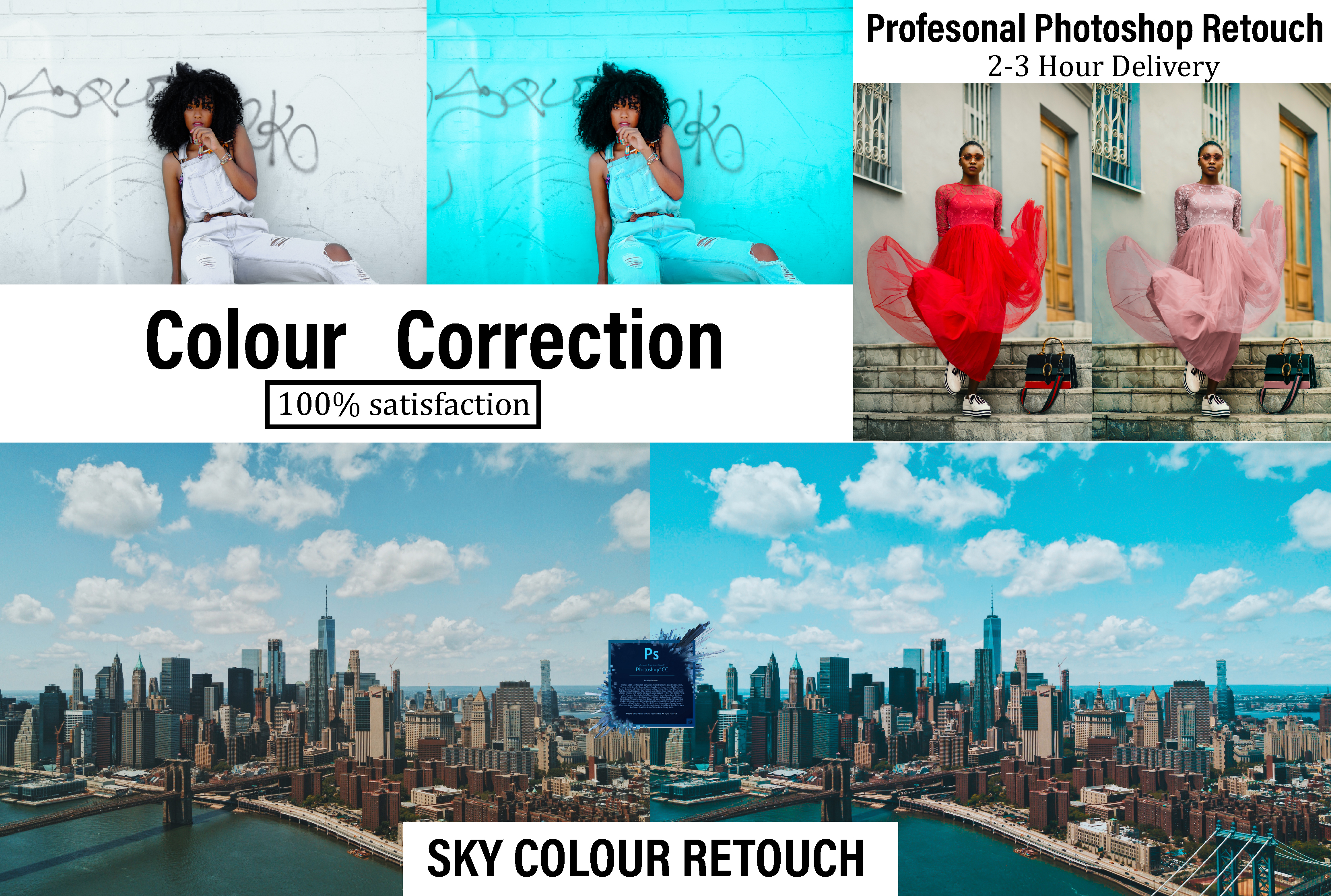 I will retouch image expert label