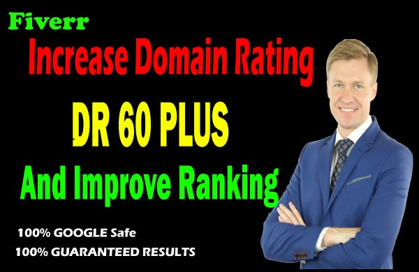 I will increase domain rating DR ahrefs 50 domain trust authority