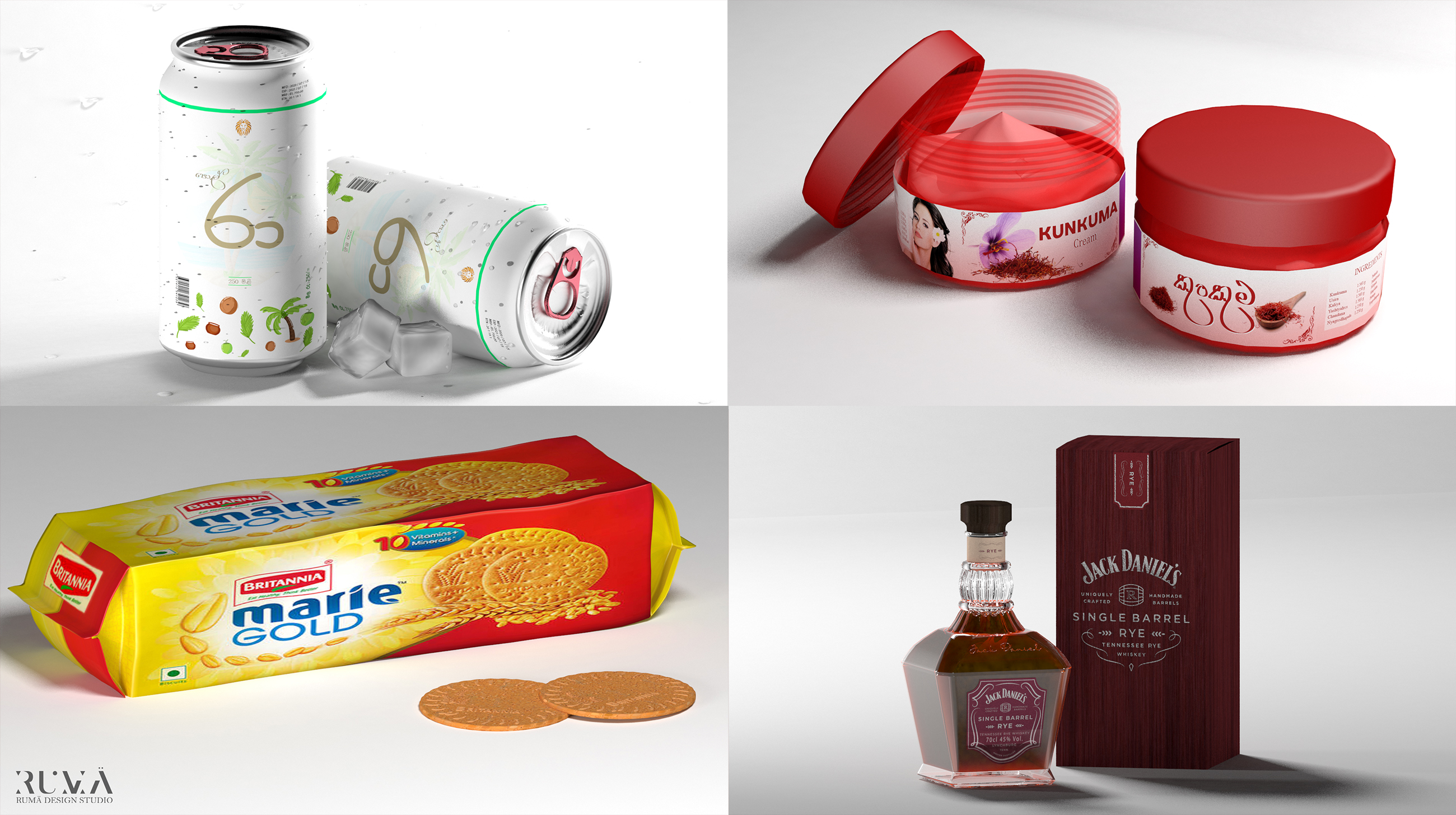 3d product modeling and photorealistic rendering