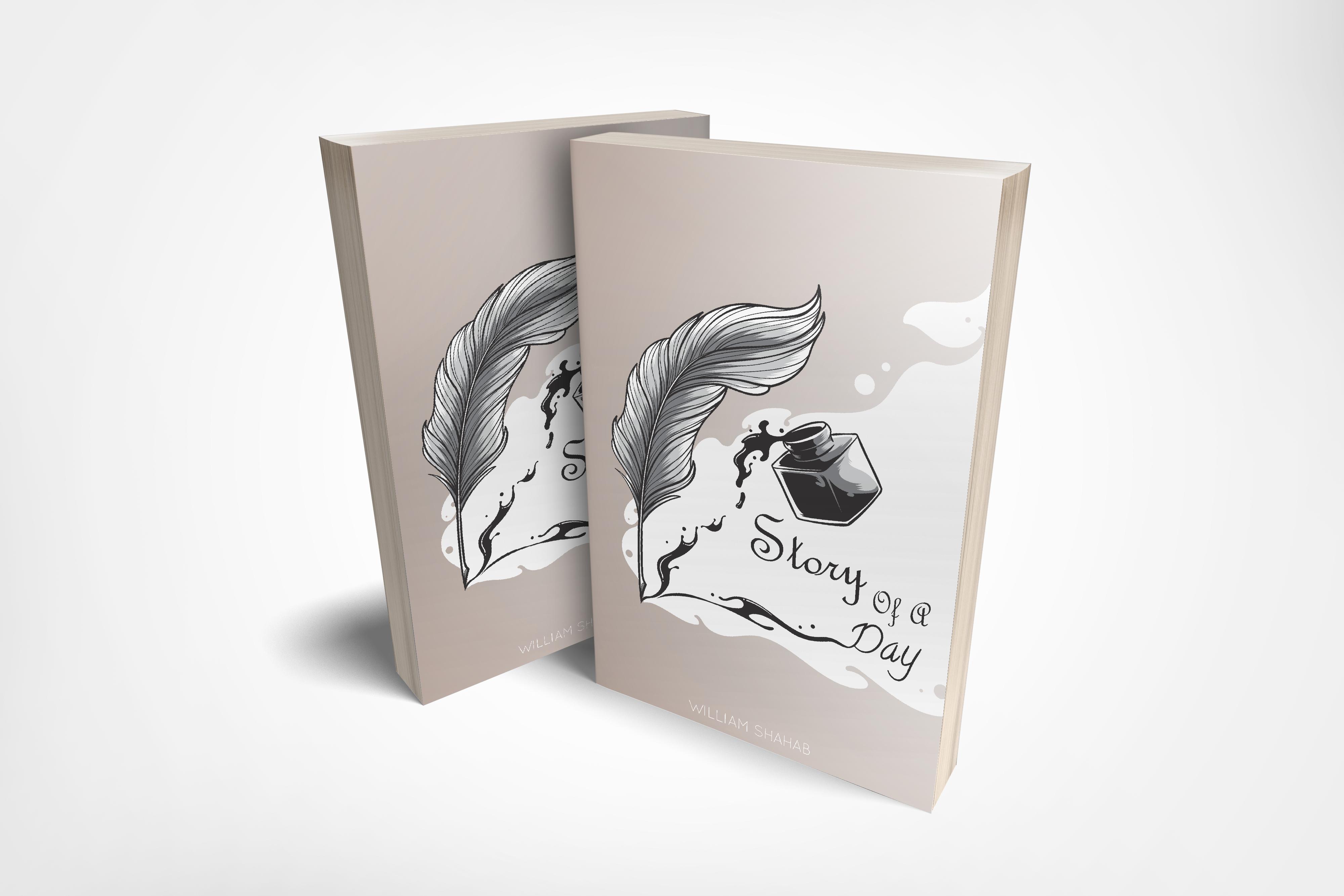 Design Elegant And Clean Book Cover Design