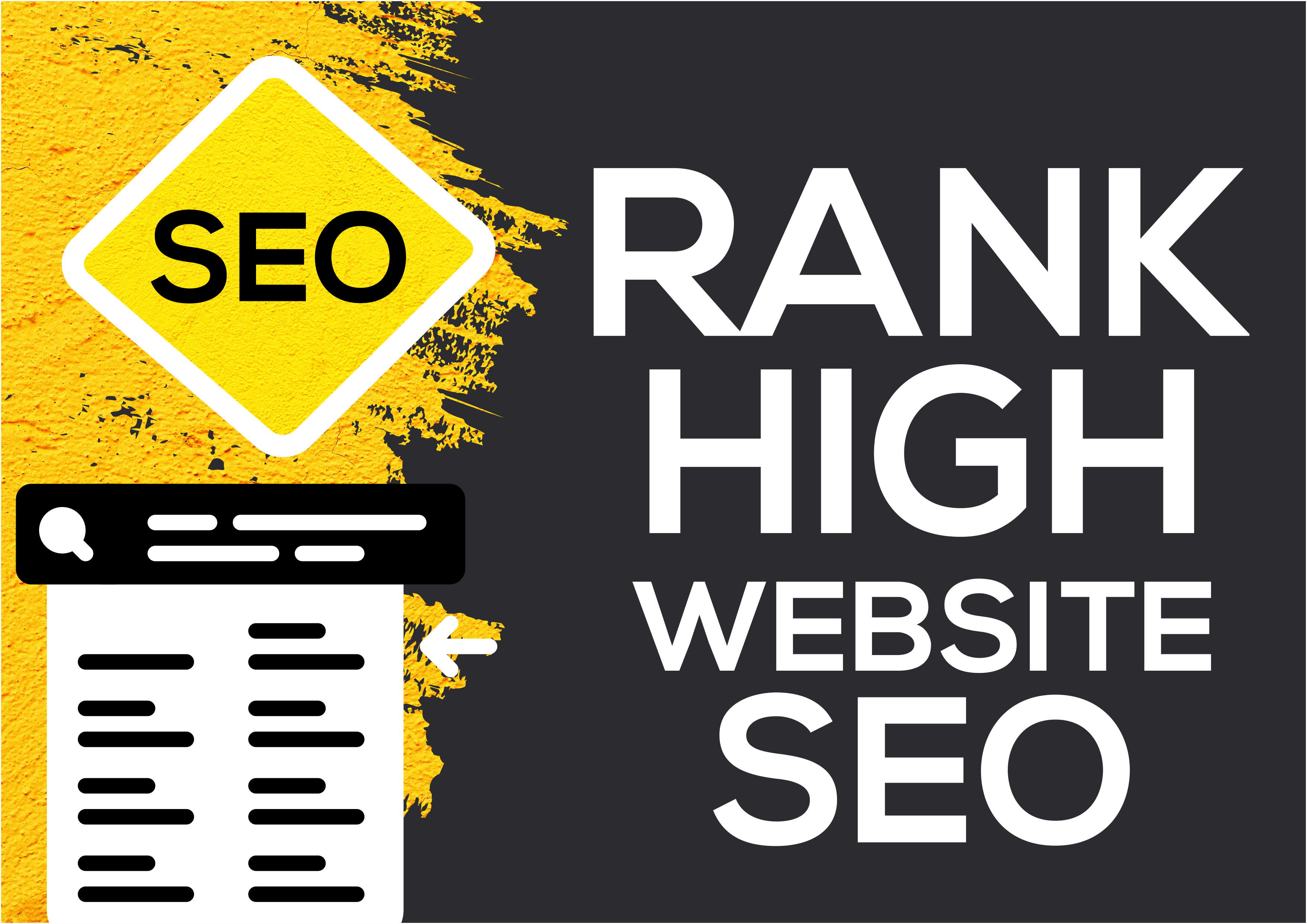I will do high quality SEO for your website Rank High