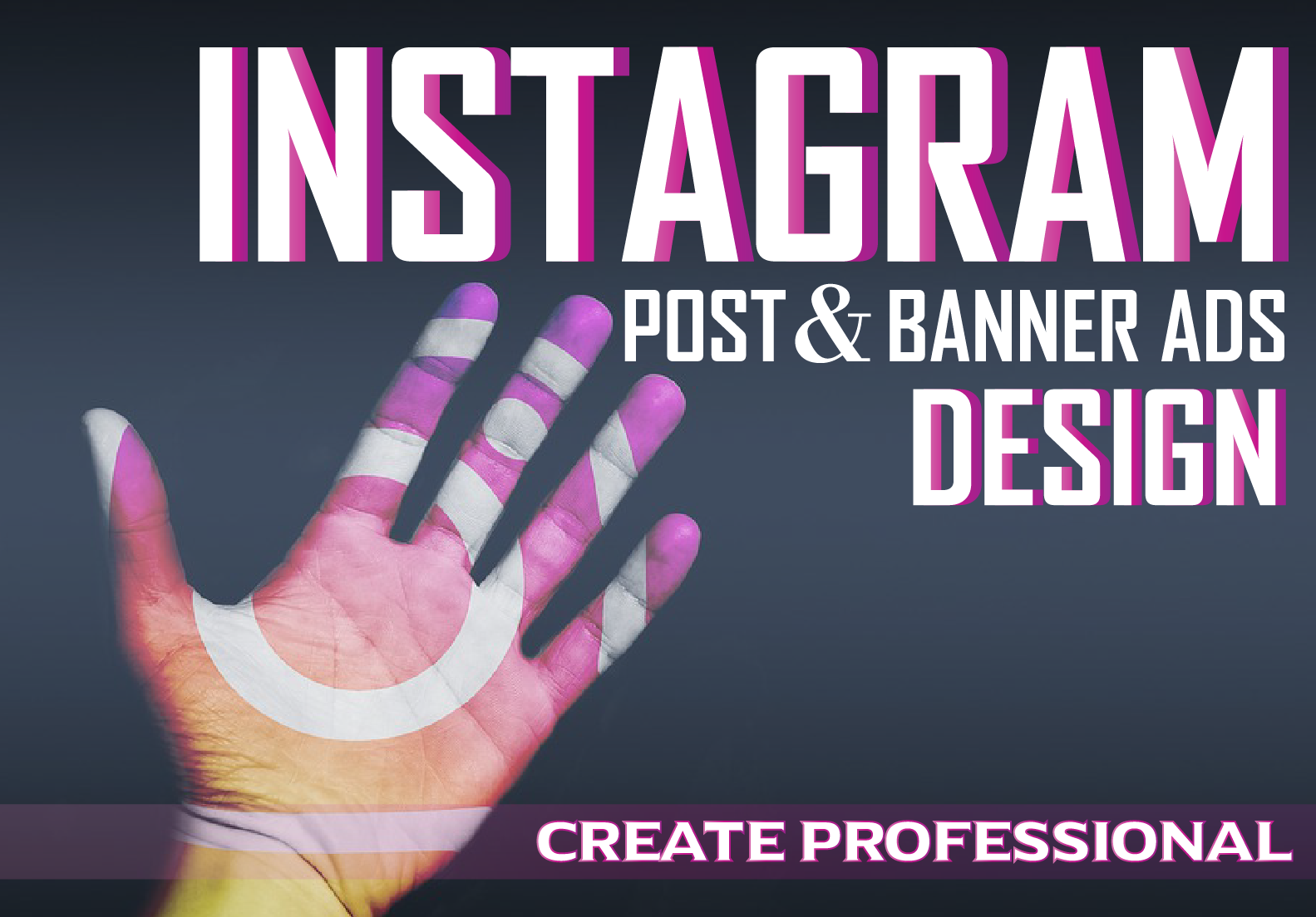 I will create professional Instagram post and banner ads design
