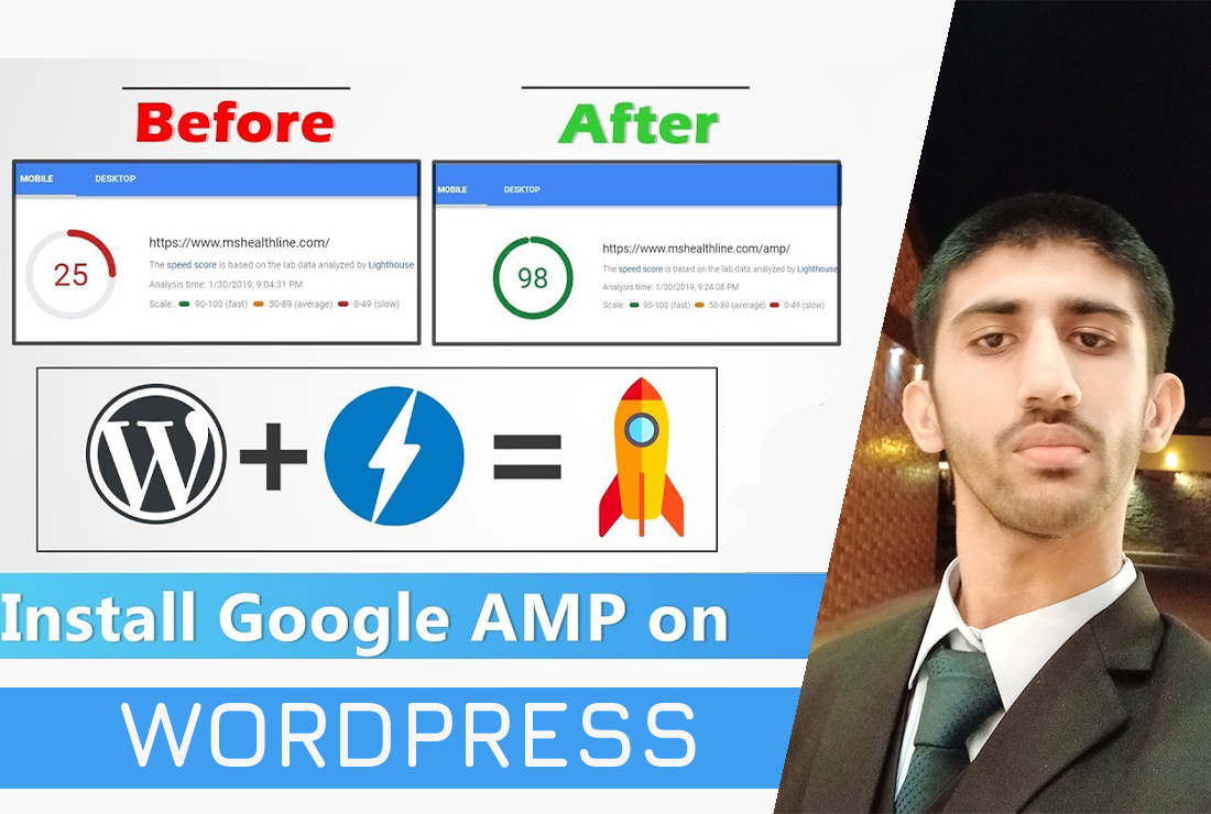 I will install and set up Google AMP for WordPress site