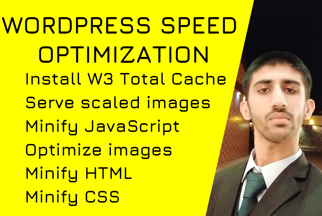 I will do wordpress speed optimization,  increase speed page speed