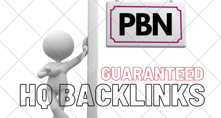 Guaranteed 100 Homepage Do-follow PBN Backlinks