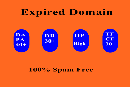 I will Provide niche relevent Expired Domain for you