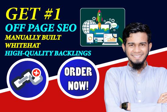 manually create 50 high quality SEO backlinks