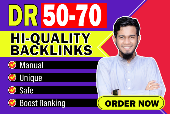 google top ranking with high quality backlink