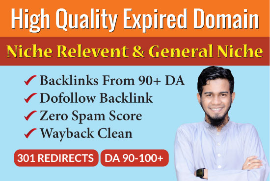 I will find 1 high authority expired domains for you